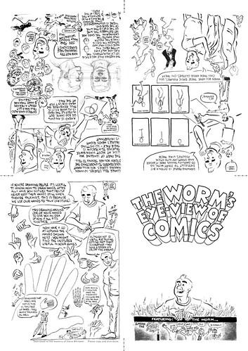 worm's eye view of comics side 1