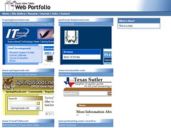 [Sites] travistubbs.net 1.0: Projects (September 2003) (InternalServer.net) Tags: thumbnails