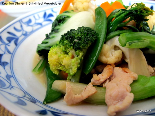 Reunion Dinner: Vegetables