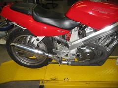 1989 HONDA HAWK GT (ENUF III) Tags: 08 stryker