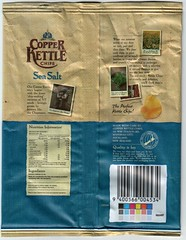Copper Kettle Chips -- back