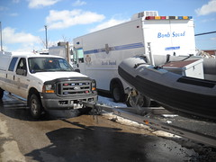 baltimore city police marine unit (billedgar8322) Tags: city ford up truck harbor boat police baltimore inner cop trucks trailer pick squad bomb