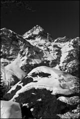 Winter B&W (Alberto Montrucchio) Tags: winter blackandwhite bw italy mountain snow mountains alps ice nature montagne italia natura neve glaciers alpinismo inverno alpi montagna biancoenero ghiaccio alpinism valdaosta valdayas ghiacciai canoneos1000d