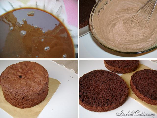 Chocolate & Cherry Cake