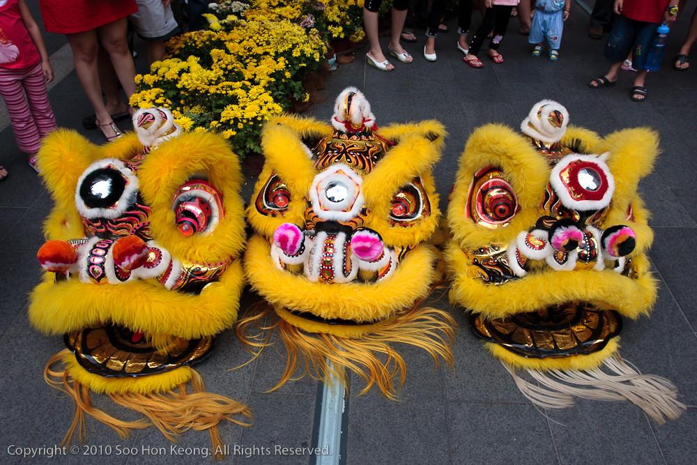 "3 Lion ""Heads"" @ Pavilion, KL, Malaysia"