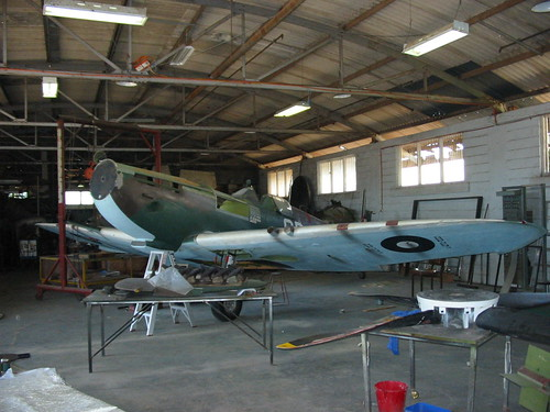 AHSNT Spitfire Replica May 2003