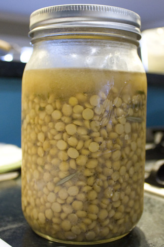 Jar of Chana Dal