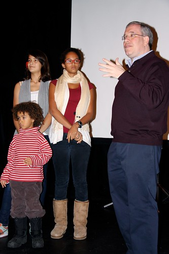 Sadie Safiyah Tenzin and MBP Scott Stringer