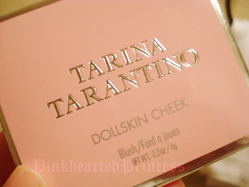 Tarina Tarantino blush