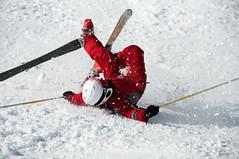 Soleil (Alain Bachellier) Tags: ski hiver chute piste axlesthermes bestoff bonascre ccesncf