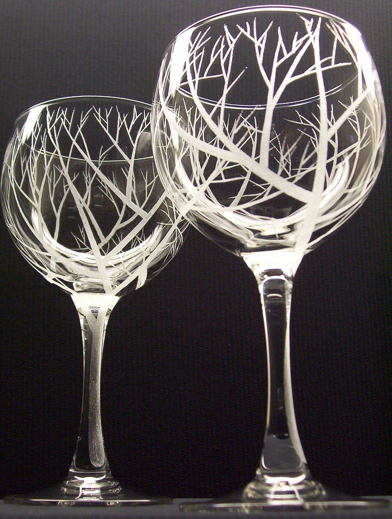 The world 39 s newest photos by daydreem designs flickr for Hand designed wine glasses