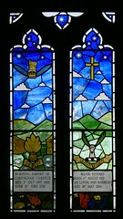 Stained glass by William Nichol - Radway