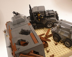 Terminator Salvation (The Wild Eskimo) Tags: lego contest apocalypse terminator brickarms