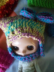 May's new haka hat (Mooy) Tags: colorful crochet may hats collection blythe knitted sta