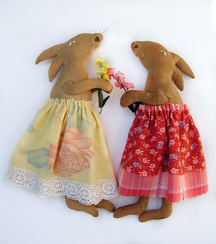 couple bunny