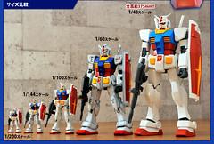 100303 - 身高37.5公分的史上最大鋼普拉『Mega Size Model Gundam』將在本週六堂堂誕生