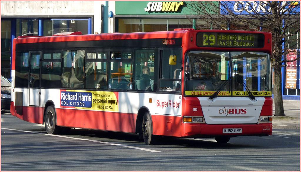 Plymouth Citybus 060 WJ52GNY