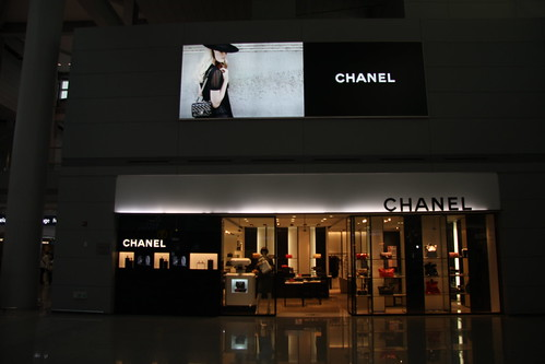 Chanel flagship shop in the In-cheon airport