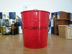 Cutest compost bin ever.