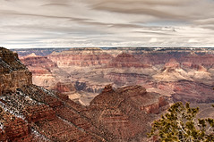 panorama (nosha) Tags: christmas winter vacation arizona sky usa holiday snow cold southwest nature beautiful beauty rock december wind outdoor grandcanyon grand az canyon f80 2009 lightroom 18mm blackmagic nosha 1400sec nikond300 christmas2009 1400secatf80 southwest2009
