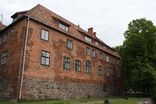Zamek w Kętrzynie od południa