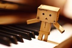 Do Re Mi.. (Ali Tse) Tags: toy toys amazon piano limited danbo revoltech jfigure danboard 阿楞