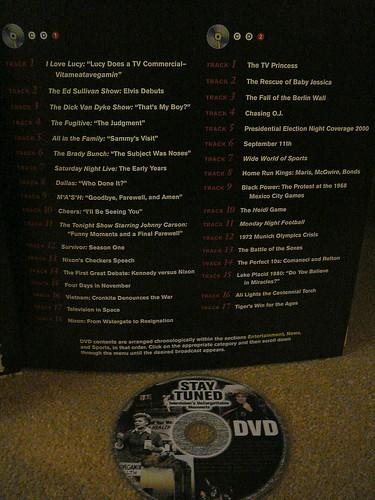 television dvd list staytuned dailyshoot 065365 edtech3652010 ds111