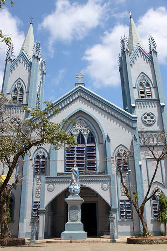 Outside Immaculate Conception Cathedral - Palawan - 1