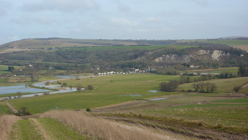 Houghton and Amberley in distance