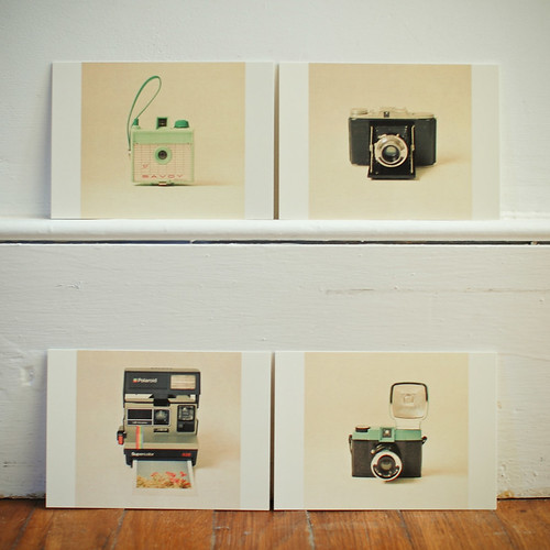 Postcard Set - Camera Love