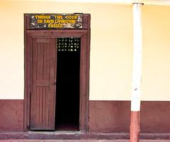 Through this door Dr David Livingstone passed