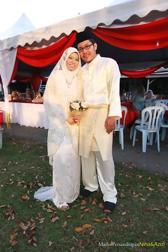 Pernikahan Mohd Azizi&Nur Amanina
