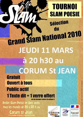 Clermont-ferrand : Poetry Slam Show de Mars
