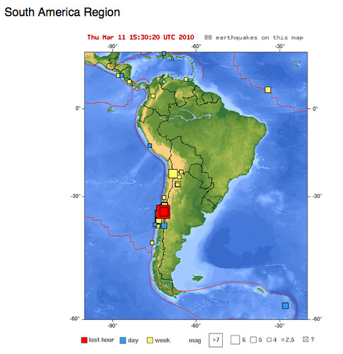 6.9 aftershock to the 7