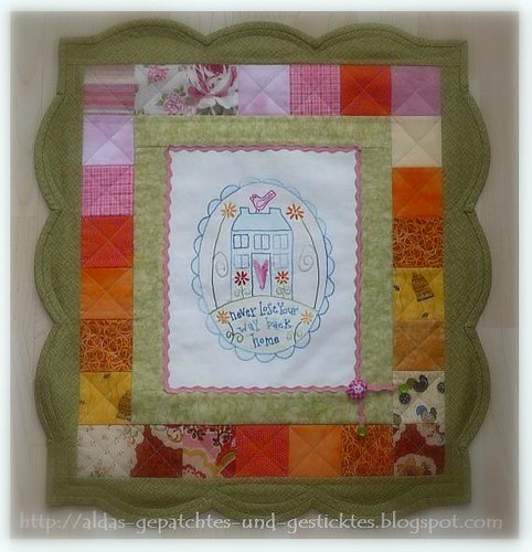 Roslie Quinlan-Your way home  aldas Quilt