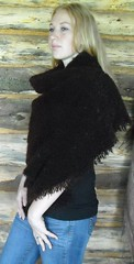 "9   Brown mohair shawl • <a style=""font-size:0.8em;"" href=""http://www.flickr.com/photos/10854591@N06/4435336468/"" target=""_blank"">View on Flickr</a>"