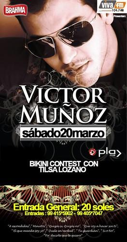 Victor Muñoz y Tilsa Lozano - Discoteca Play Club