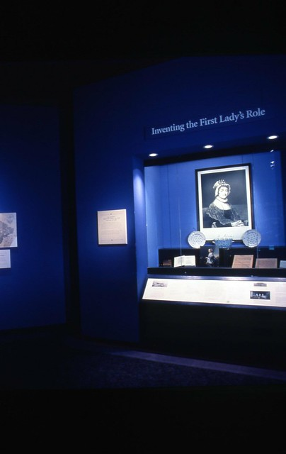 First Ladies Political Role and Public Image exhibit installation 1992 by national museum of american history