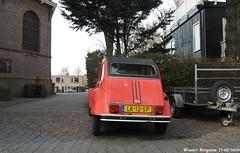 Citroën 2CV 1984 (Wouter Bregman) Tags: auto old france classic netherlands car vintage french automobile nederland citroën voiture 1984 2cv paysbas eend geit ancienne spaarndam citroën2cv française deuche