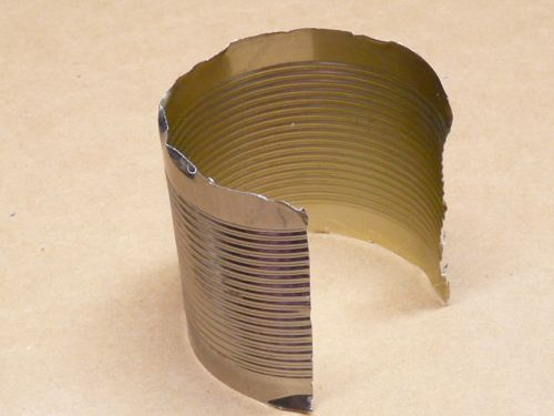 how to cut tin cans into shapes