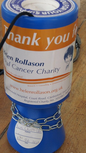 Charity collecting box