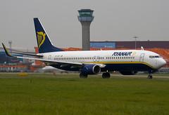 EI-CSP - 29929 - Ryanair - Boeing 737-8AS - Luton - 080916 - Steven Gray - IMG_7325
