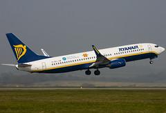EI-DAJ - 33548 - Ryanair - Boeing 737-8AS - Luton - 070327 - Steven Gray - CRW_5831