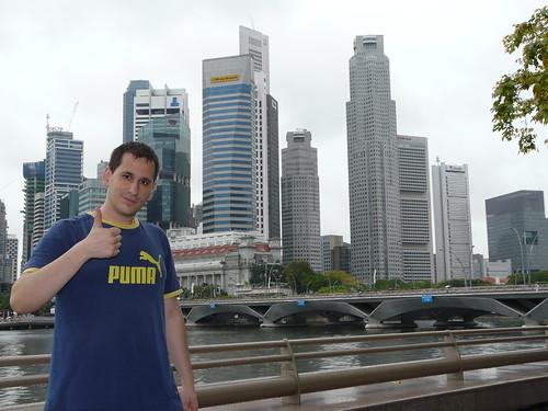 Saludos desde Singapur