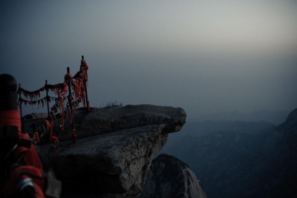 Climbing Hua Shan