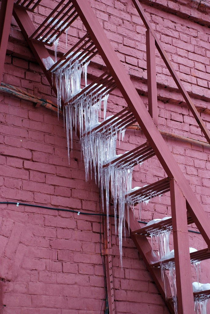 фото: icicles
