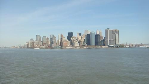 Skyline da Staten Island