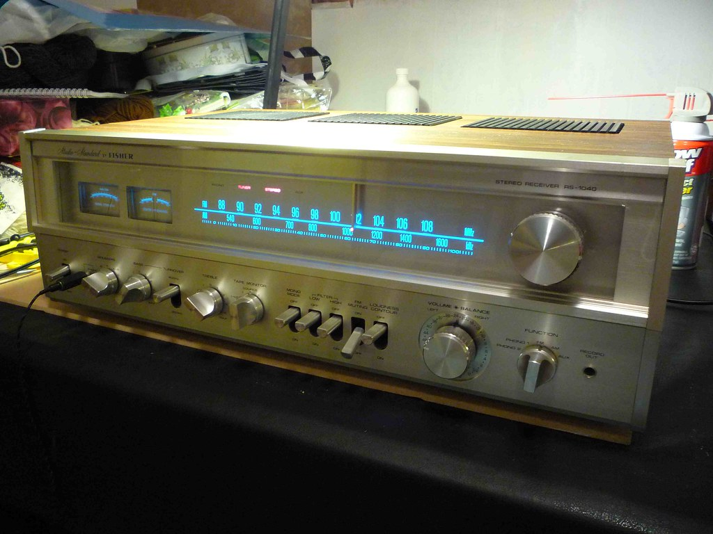 Mint Fisher RS-1040.......nice !!! | Audiokarma Home Audio Stereo  Discussion Forums