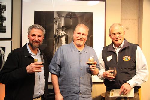 Ken Grossman, me and Fritz Maytag