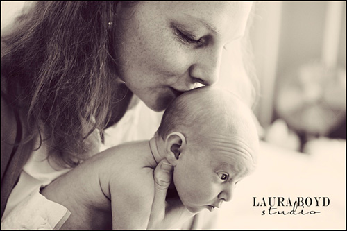 Mom and Baby -- by Laura Boyd